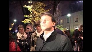 Paris (France) 08/12/2011 Manuel Valls soutient J.M Ribes pour Golgotha Picnic   © LTL News thumbnail