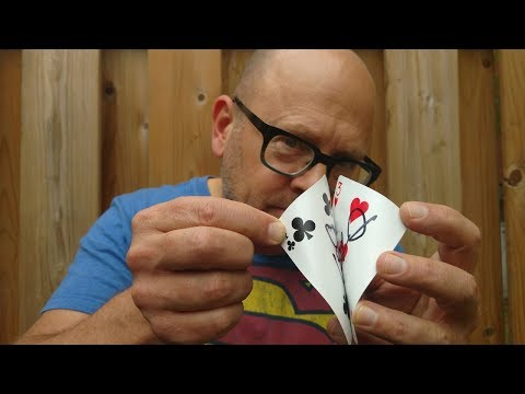 HOW TO TEAR ONE CARD INTO TWO! (Shocking Magic Trick Revealed!)