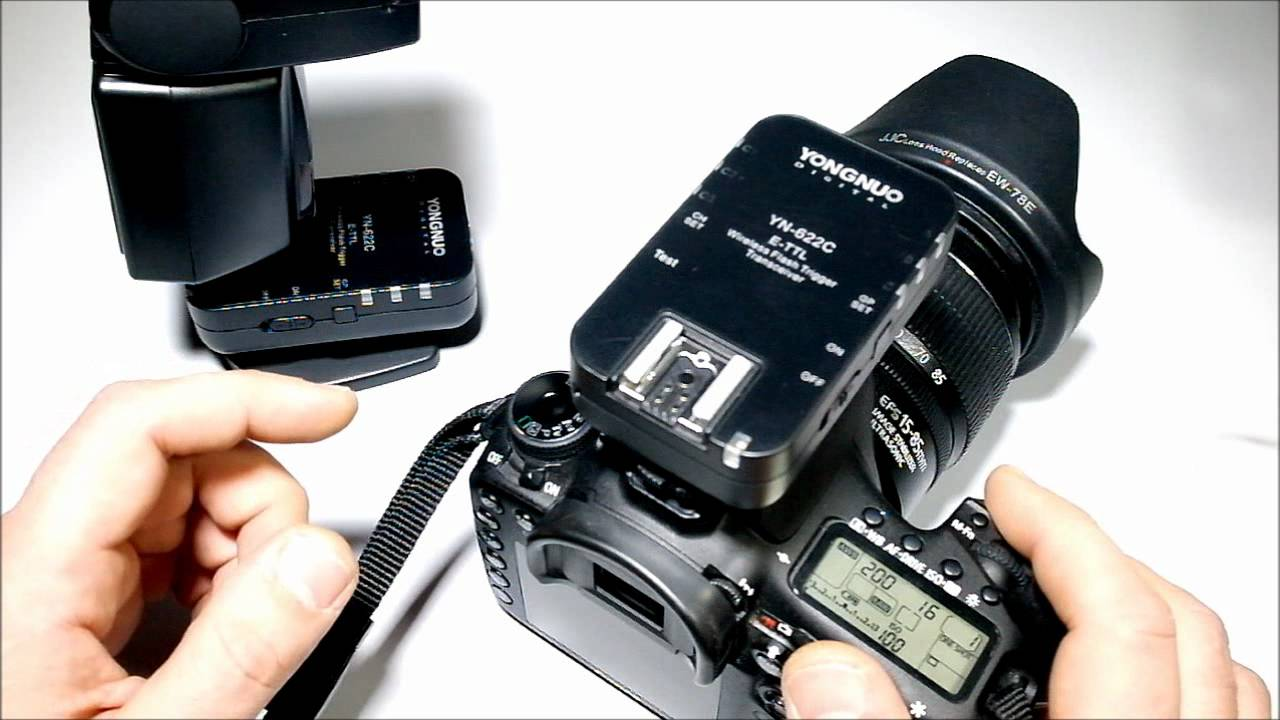 Синхронизация генератора и фотоаппарата