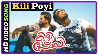 Kilipoyi Malayalam Movie | Songs | Kili Poyi Song |  Asif Ali | Aju Varghese | Rahul Raj