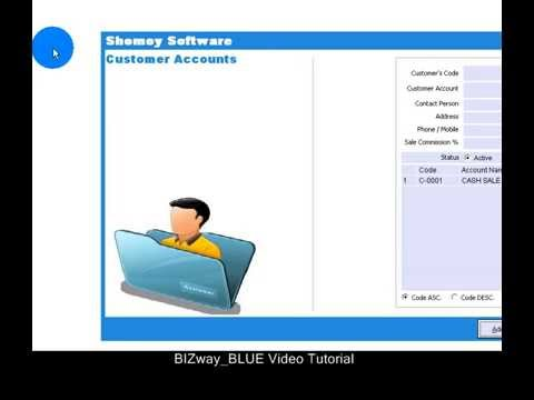 BIZway BLUE : Inventory Management & Accounting Software