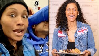 """Cynthia Bailey Explains Her Bituation With The """"Cookie Lady!"""" 🤯"""
