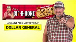Larry The Cable Guy Git-r-done Salted Nut Roll