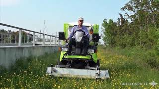 Grillo FD2200 4WD Commercial Mower with 150cm front Cutting Deck