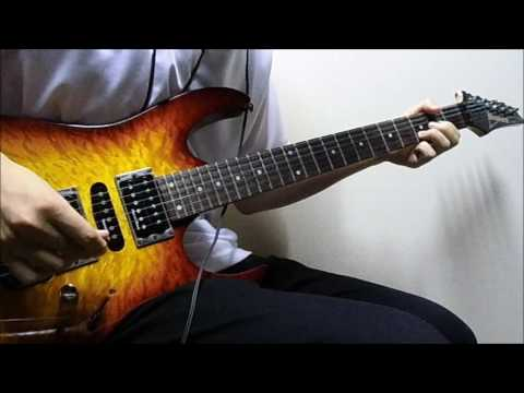 The Whole World's Gonna Know / Mr.Big  - Paul Gilbert guitar cover