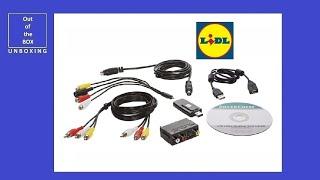 SilverCrest USB 2.0 Video Grabber SVG 2.0 A2 UNBOXING (Lidl 5 V DC, 300 mA)