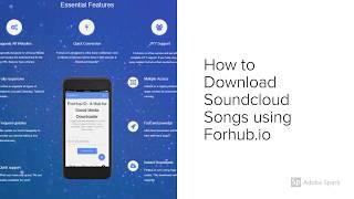 List video soundcloud downloader android - Download mp3