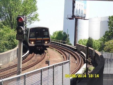 🚇/💺 MARTA (Atlanta): GOLD Line (Subway) to Doraville... FULL RIDE!