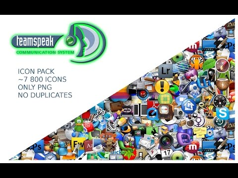 TS3 Icons Pack! ~7800 Icons! Only PNG, 16x16 - NO DUPLICATES!