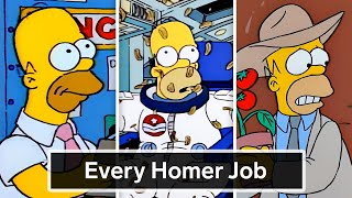Every Job Homer Simpson's Ever Had   WIRED