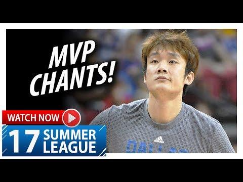 Ding Yanyuhang Full Highlights vs Celtics (2017.07.15) Summer League - 11 Pts, MVP Chants!