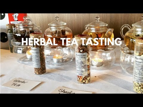 Herbal Tea Tasting