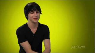 Mitchel Musso Talks to JSYK