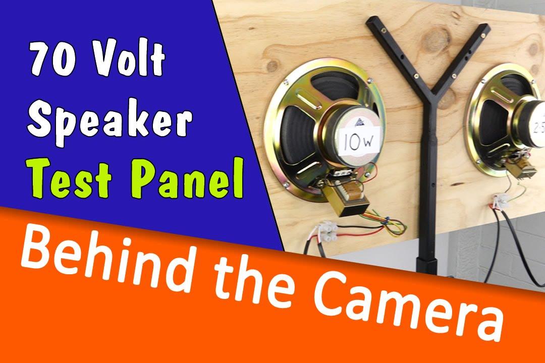 Building the 8/ 8 volt test panel