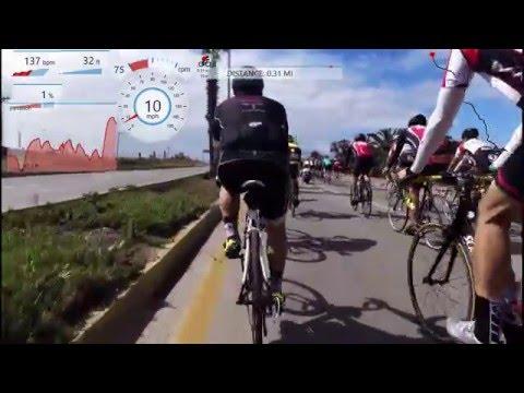Paseo Rosarito Ensenada Bike Ride May 2016- Lots of Headwind