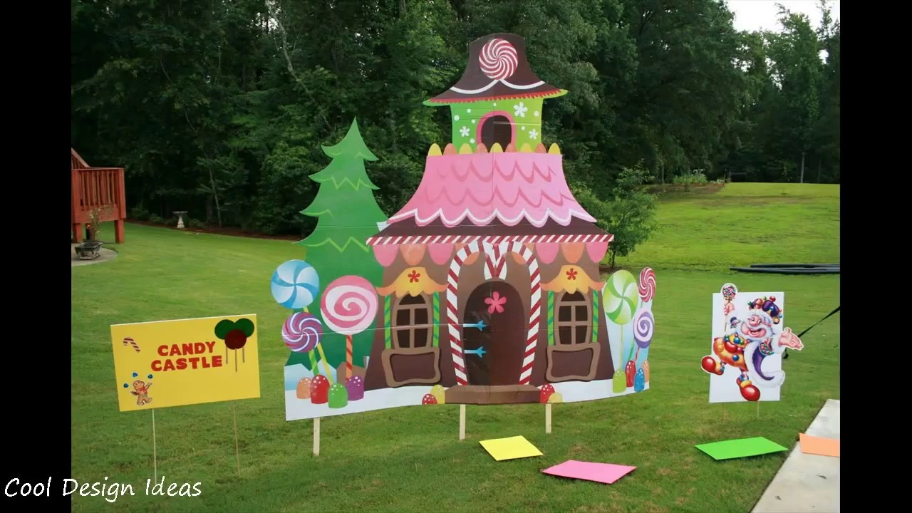 Diy Candyland Party Decorations Ideas Youtube
