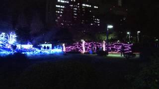 13.12.6 仙台市 「2013 SENDAI光のページェント」市民広場付近の点灯を...
