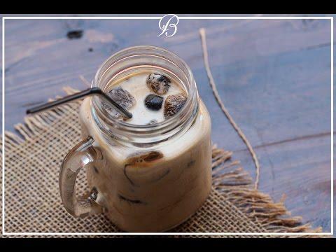 أيس كوفي ألذ من ستاربوكس ! | iced coffee cubes