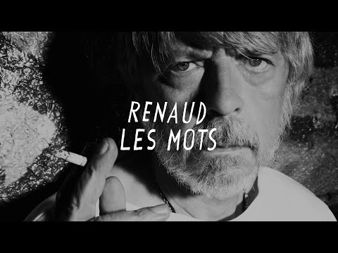 Renaud - Les mots (Lyrics video)