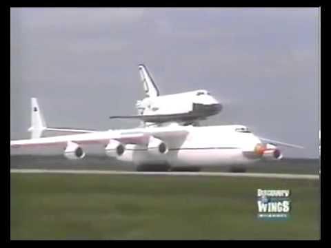 WORLDS LARGEST AIRCRAFT Antonov An 225 Mriya Buran Shuttle