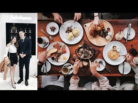 VLOG #34 ♡ Trisha Ra Hà Nội, Review Ngắn Sunday Riley ♡ Pretty.Much