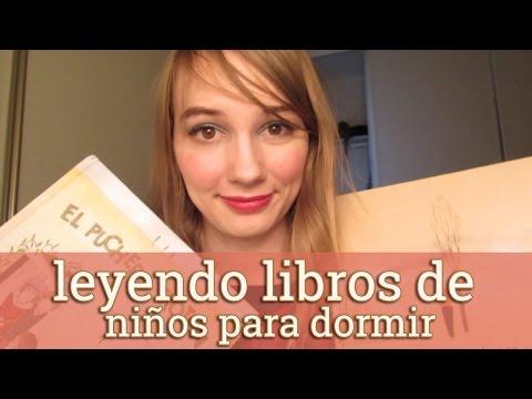 [ASMR EN ESPAÑOL] 📖 Leyendo libros de niños para dormir (hablando suavamente)