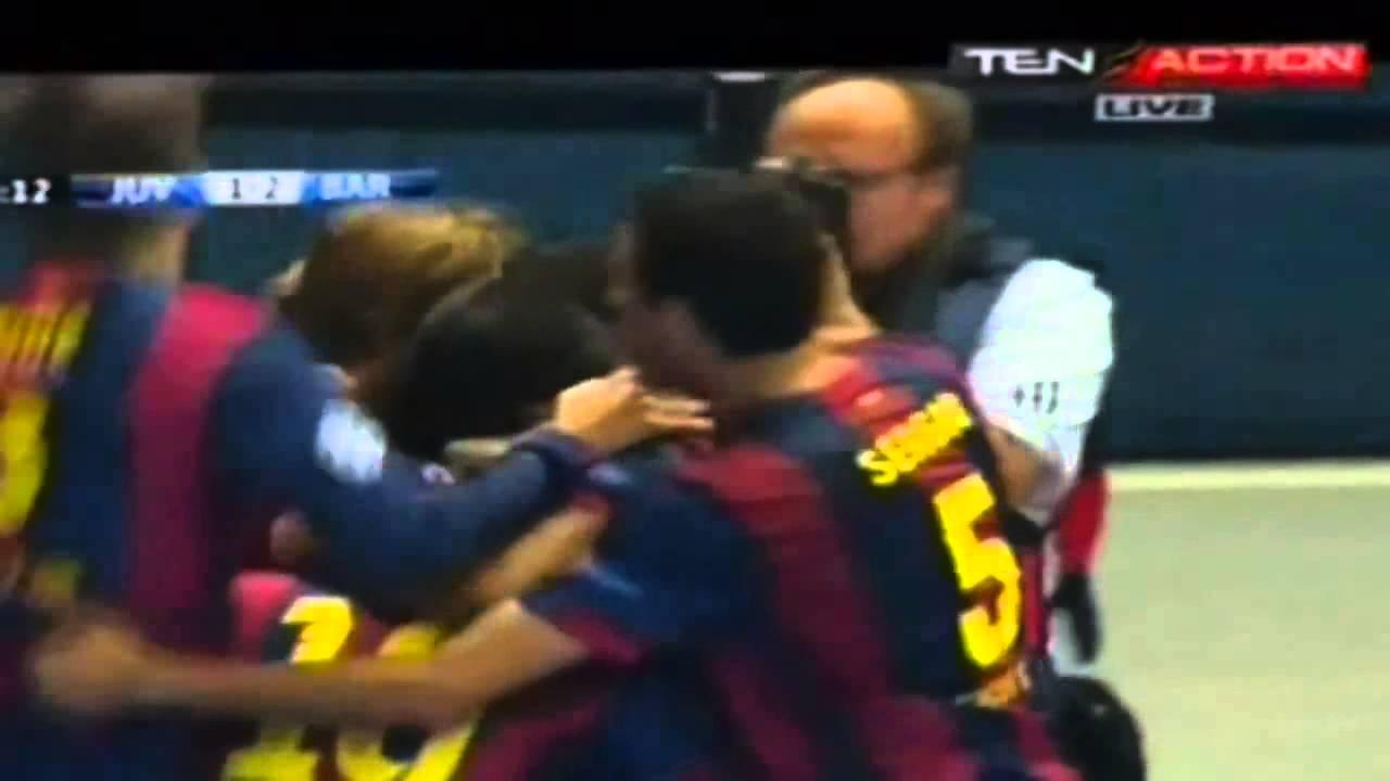 Barcelona vs Juventus 2015 2 -1 goal Suarez Champions ...