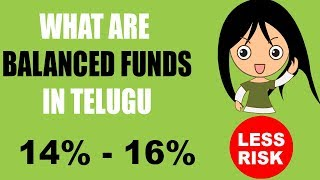 BALANCED FUNDS: WHAT ARE BALANCED MUTUAL FUNDS IN TELUGU(2018)