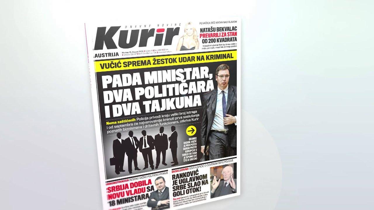 kurir novine