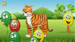 Safari Puzzles Funny Animals Kids Game