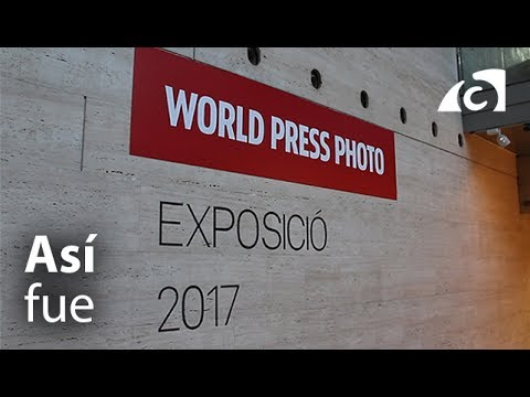 Así fue la visita al World Press Photo