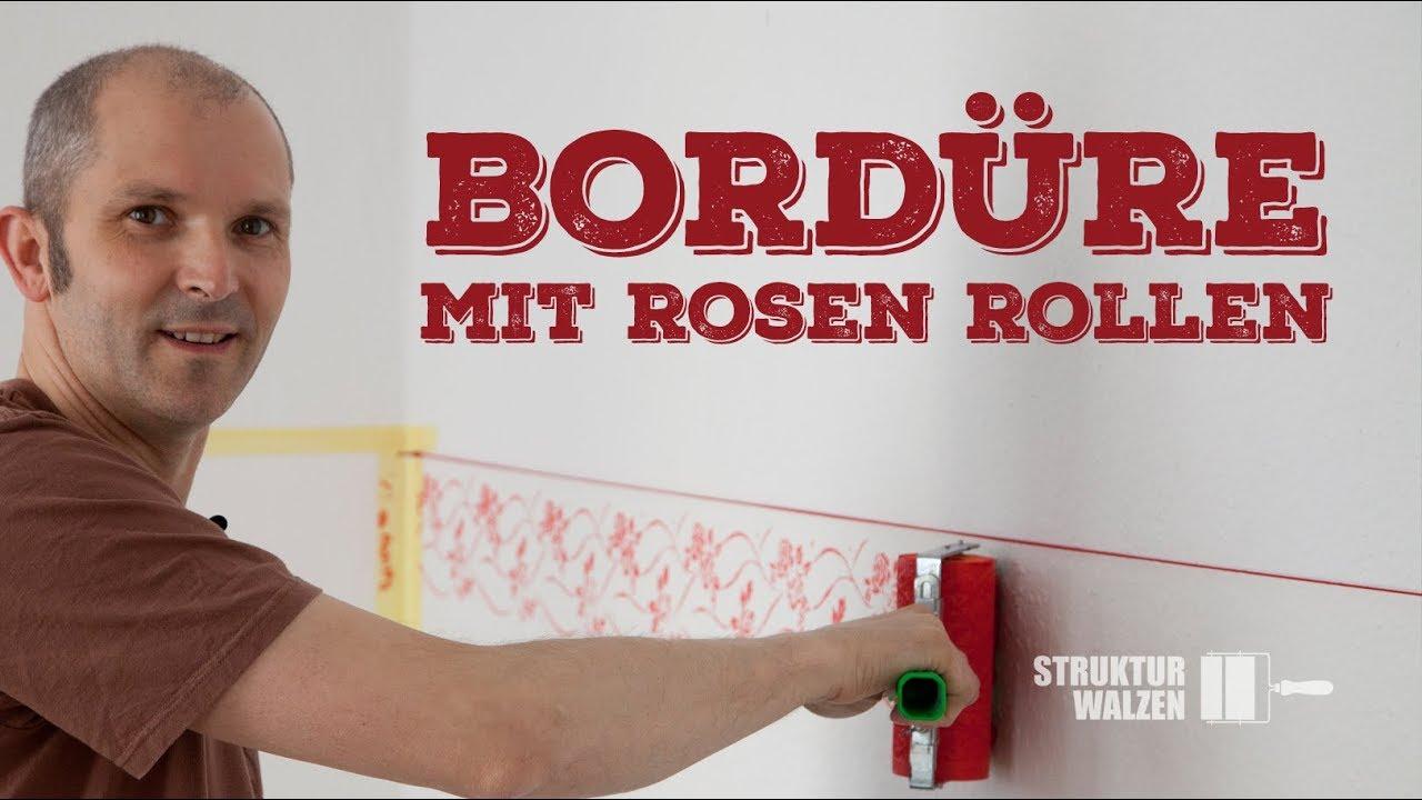 Alternative Zu Tapete : bord re selber streichen alternative zu tapete schablone diy wandgestaltung mit ~ Watch28wear.com Haus und Dekorationen