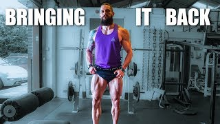 BRINGING IT BACK! | Rebuilding & Physique Update  (Lex Fitness)