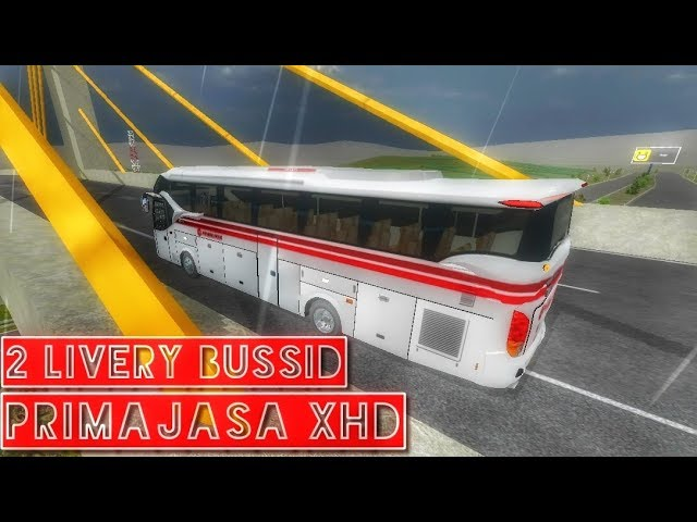 Berbagi livery bussid || Po. Primajasa XHD || by BlahBloh
