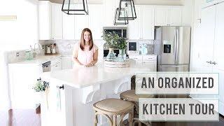 Organized Kitchen Tour