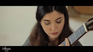 Andrea González Caballero plays Prelude BWV 1006a J. S.  Bach on a Antonio Marin Montero 2017