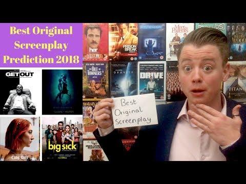 Best Original Screenplay Oscar Prediction 2018