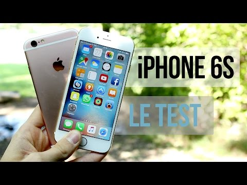 Apple iPhone 6s et 6s Plus : Le test complet !