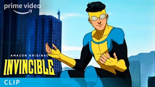 Invincible is an amazon original series based on the groundbreaking comic book from robert kirkman, creator of walking dead. story revolves aroun...