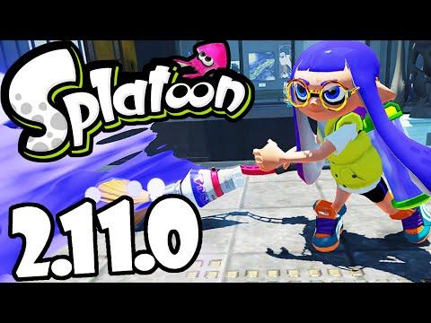 splatoon-wii-u-gameplay-2.11.0-update!-roller-&-brush-ink-flick-fix,-s-rank-online-walkthrough-hd