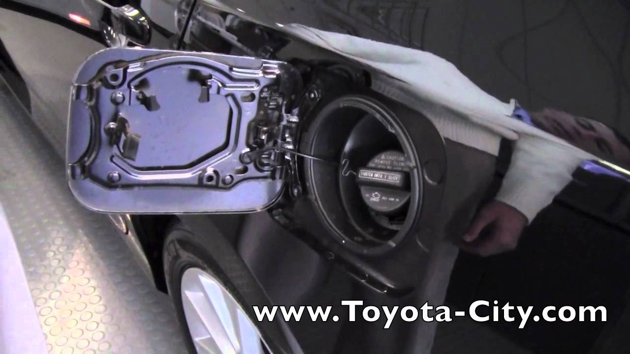 2012 Toyota Camry Fuel Door Release How To By