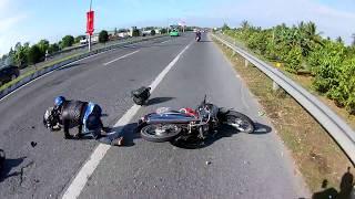 [18-02-2018] Quẹt xe người ta ngã rồi bỏ chạy
