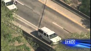 High-speed chase ends west of Katy/ Brookshire, Tx