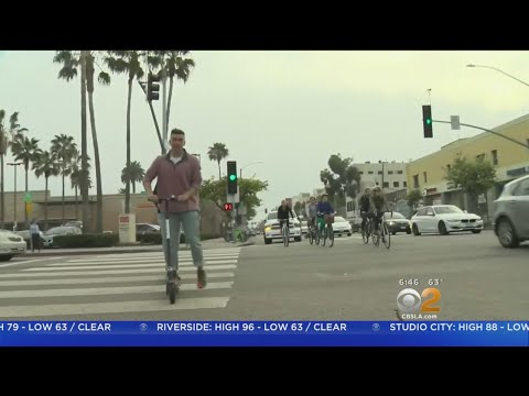 Santa Monica Considers Crackdown On Scooters