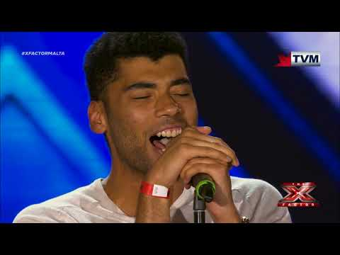 X Factor Malta - The Chair Challenge - Claudio Zammit