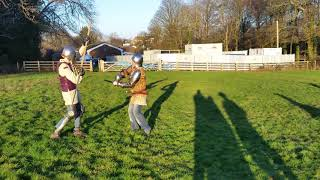 Medieval Combat Society Jan : Big stick fight, so watch out