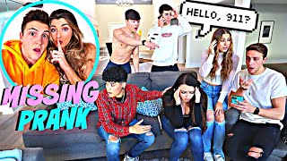 MISSING PRANK ON YOUTUBERS! *THEY FREAKED OUT*