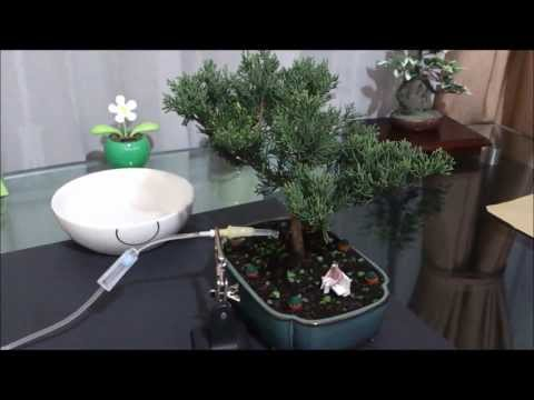self-watering system / automatic watering system / sistema de riego automatico