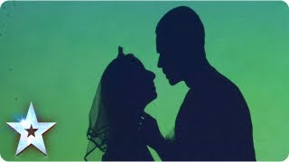 attraction perform their stunning shadow act week 1 auditions britains got talent 2013