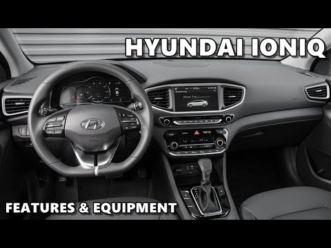 Hyundai Ioniq Ev Interior Features Equipment